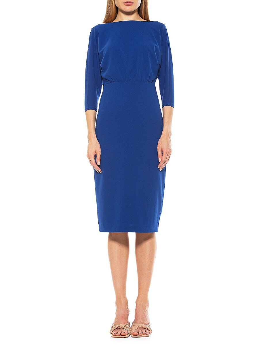 Women's Paris Boatneck Sheath Dress