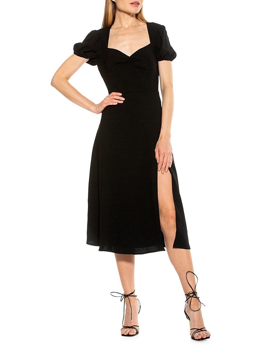Women's Sweetheart Midi Dress