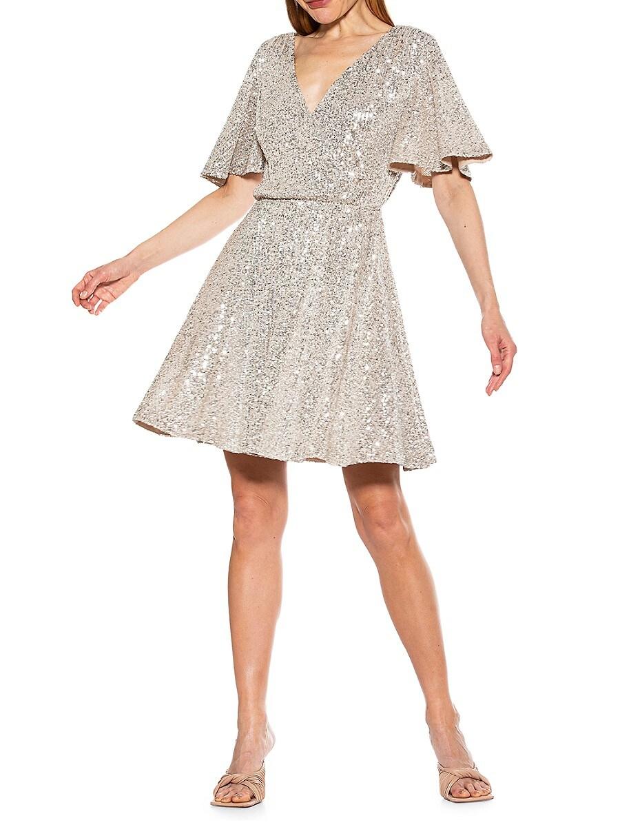 Women's Oakless Sequin Fit & Flare Dress