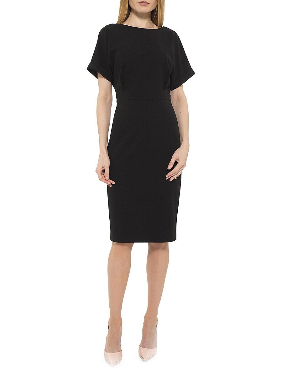 Women's Jacqueline Rolled-Cuff Sheath Dress