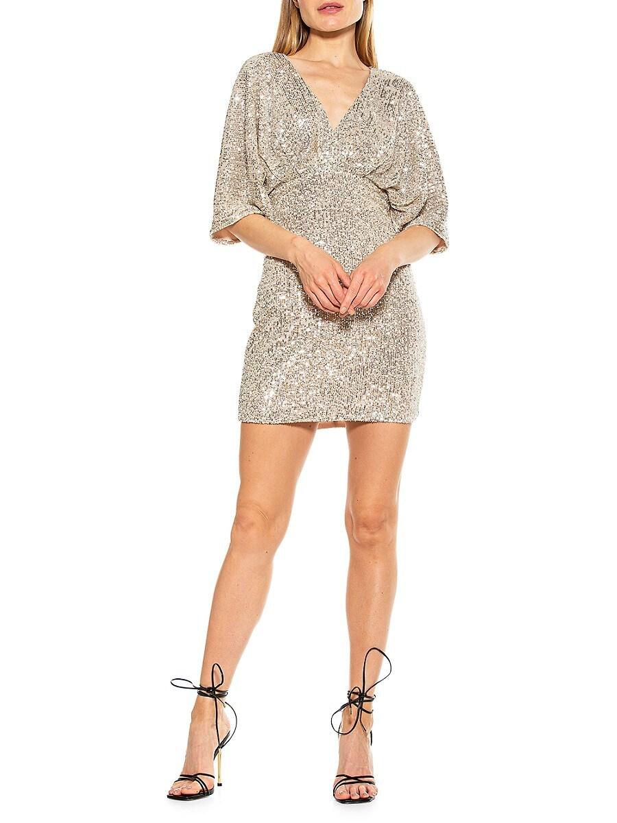 Women's Sequin Mini Dress