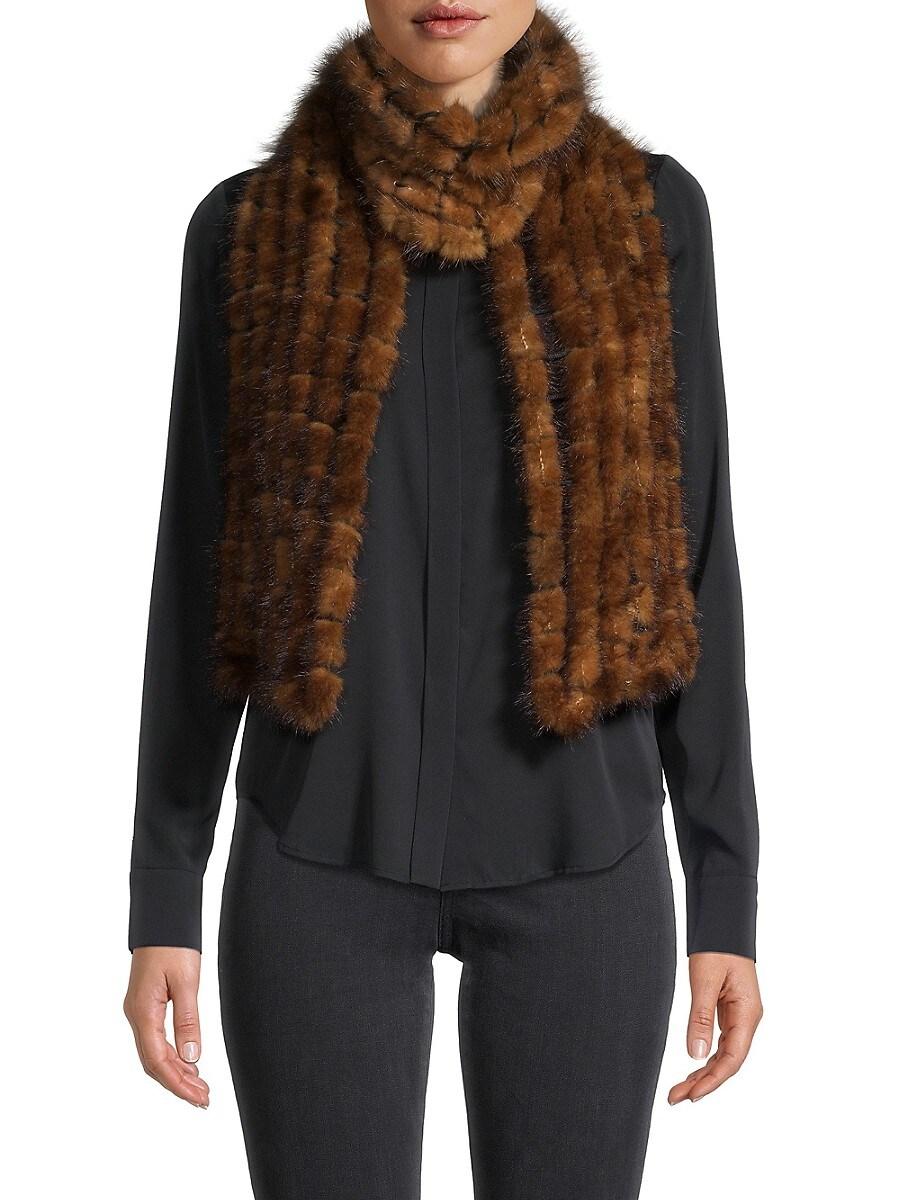 Women's Mink Fur Scarf