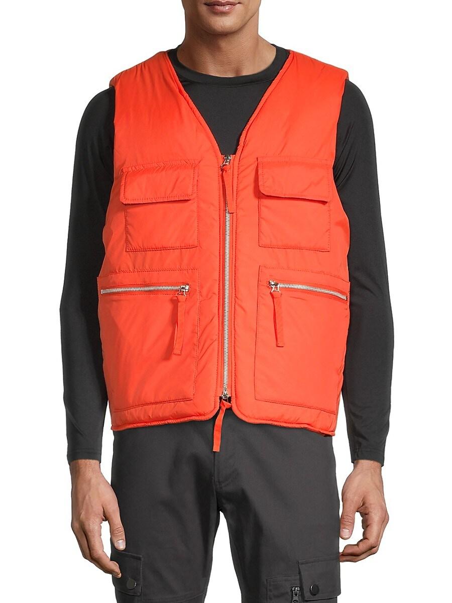 Men's Regular-Fit Utility Vest
