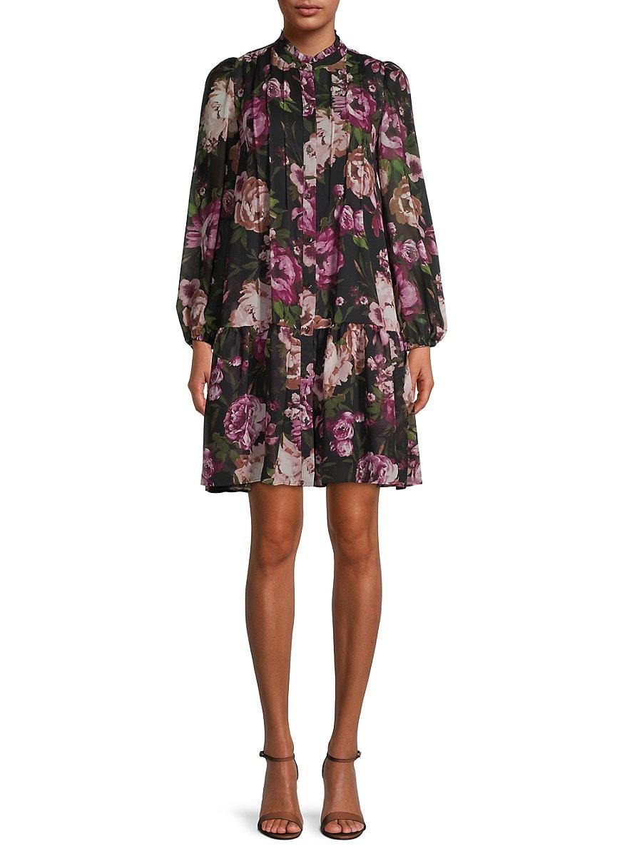 Women's Floral Shift Dress