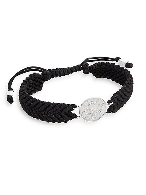 St. Andrew Medallion Macram? Bracelet