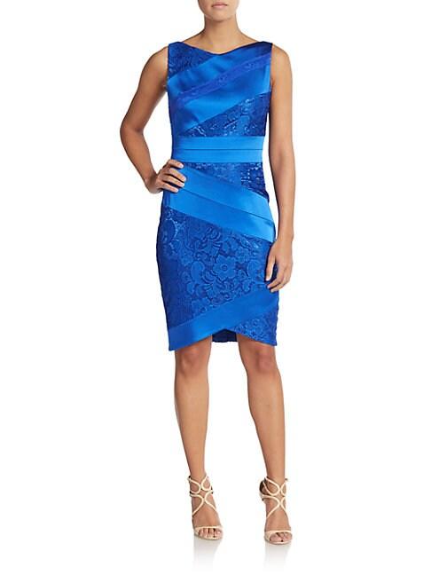 Lace & Satin Dress
