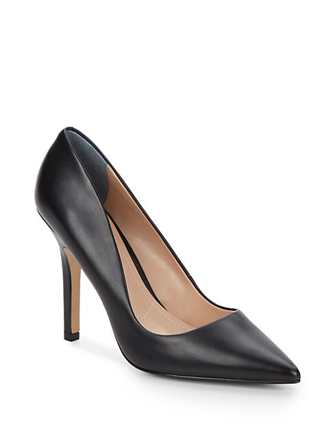 CHARLES BY CHARLES DAVID | Sweetness Leather Pumps | Goxip