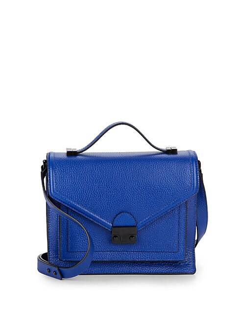 Solid Leather Satchel