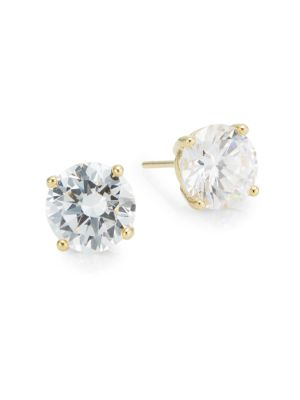 Saks Fifth Avenue  Prong-Set Round Stud Earrings