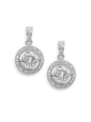 Saks Fifth Avenue  Halo Drop Earrings