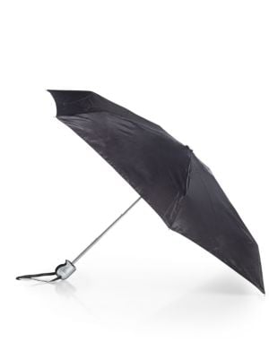 SHEDRAIN Folding Umbrella in Black