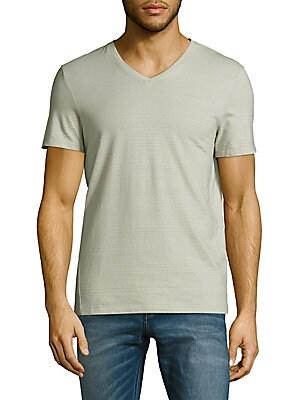 Cotton Slim-Fit V-Neck T-Shirt