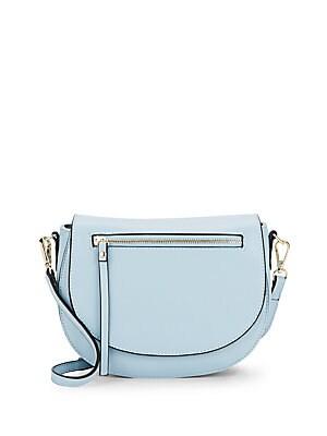 Sylvie Leather Saddle Bag
