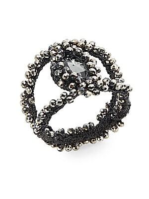 Macrame Stone Napkin Ring
