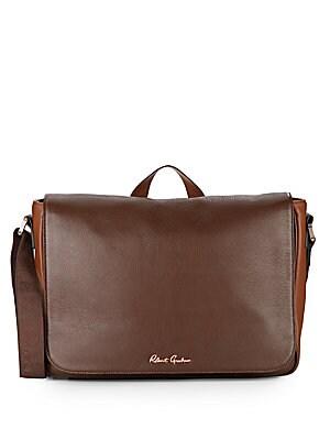 Armani Collezioni - Leather Satchel Bag - saksoff5th.com aa800a593b905