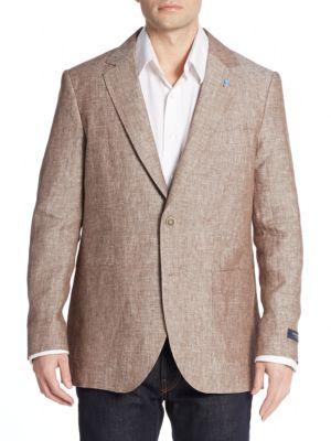 Tailorbyrd  Regular-Fit Linen Sportcoat