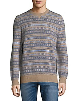 Product image. #. QUICKVIEW. Brunello Cucinelli. Snowflakes Cashmere Sweater