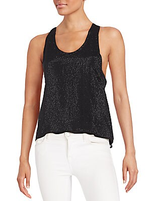 Nori Sequined Tank Top