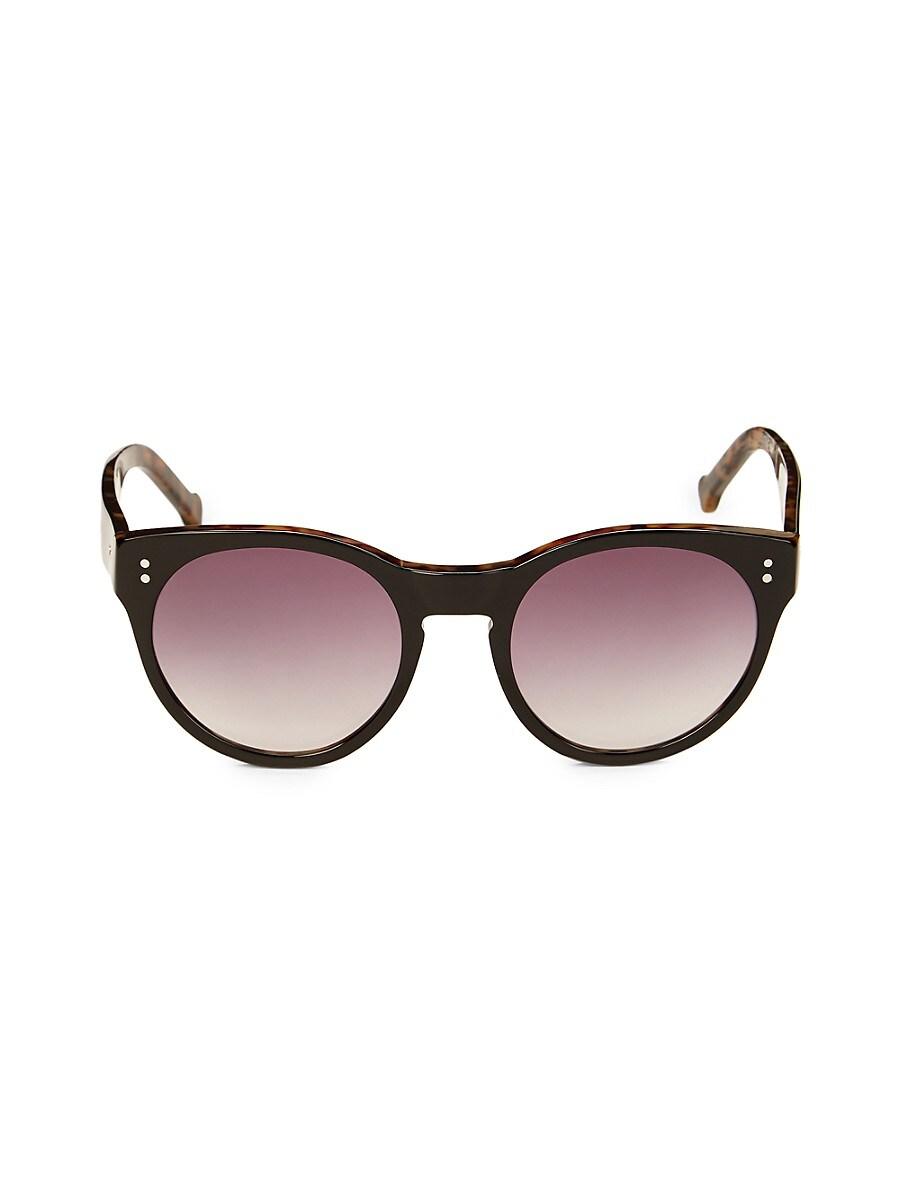 Colors in Optics Women's 52MM Cat's-Eye Sunglasses - Black