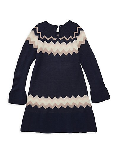 3f013bb27ee5 ... Imoga Girl s A-Line Sweater Dress