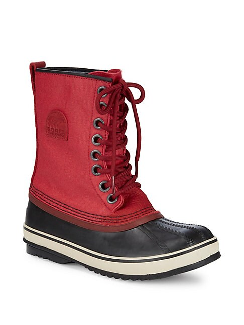 1964 Premium Mid-Calf Boots, Candy Apple