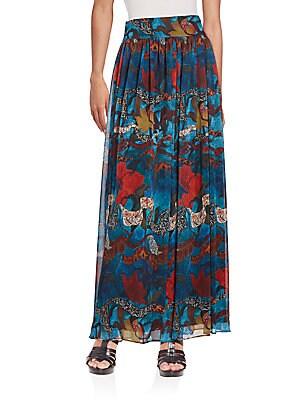 Kamryn Printed Maxi Skirt