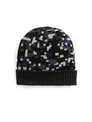 Saks Fifth Avenue  Geometric Print Hat