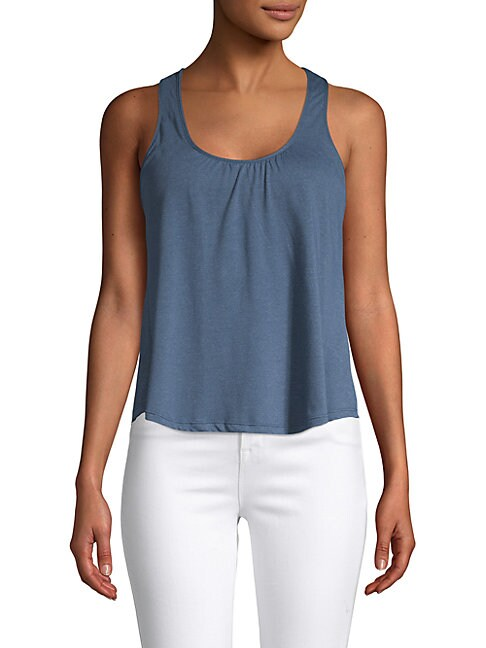 Heather Jersey Racerback Tank