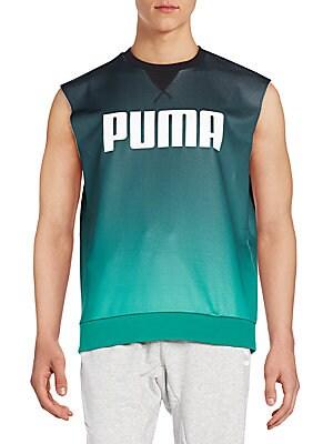 Ombré Graphic Sweatshirt