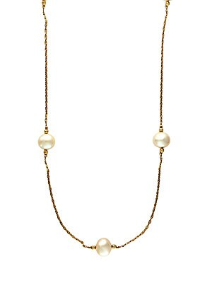 14Kt. Yellow Gold Freshwater Pearl Necklace