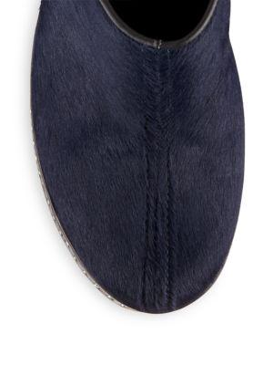 RAG & BONE Leathers Haircalf Mule