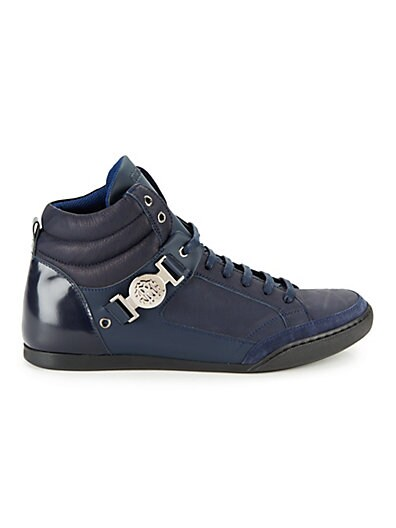 Roberto Cavalli Leather Lace-up Shoes ... 49085bbf5
