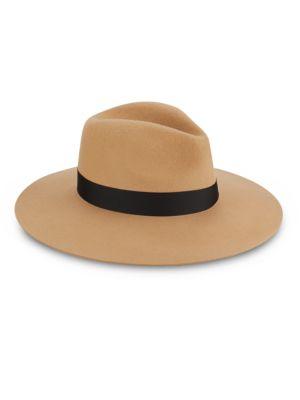 Saks Fifth Avenue  WOOL-SPUN FEDORA HAT