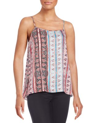 1.state  Abstract Printed Top