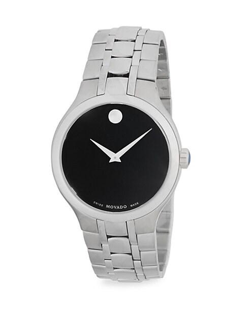 MOVADO | Museum Stainless Steel Bracelet Watch | Goxip
