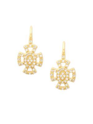 Freida Rothman  14K Gold Plated Earrings