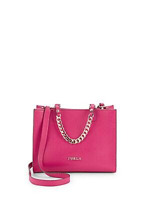 Maggie Leather Crossbody Handbag