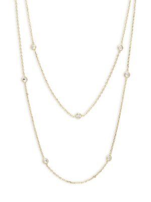 Saks Fifth Avenue  Double Strand Necklace