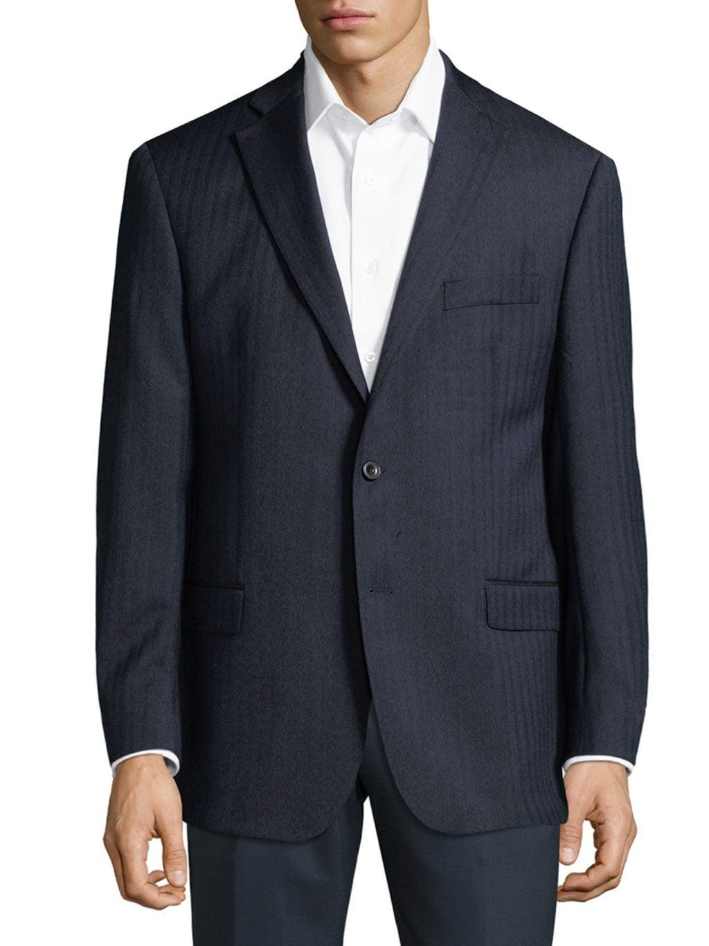 Michael Kors Collection Stripe Wool Jacket