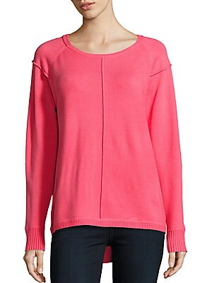 Soft Roundneck Ribbed Sweater