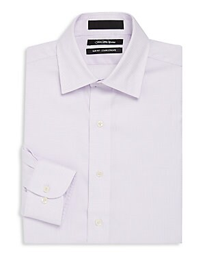 Cotton Slim-Fit Dress Shirt
