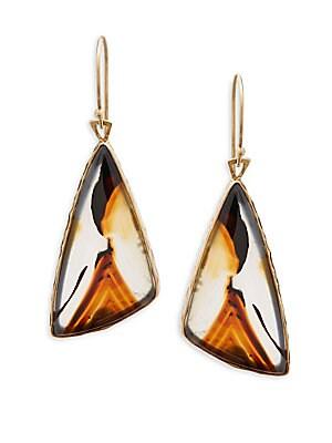 Agate Montana Drop Earrings