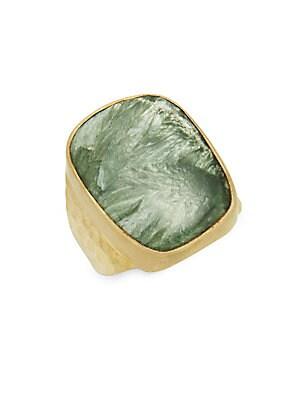 Russian Seraphinite Ring