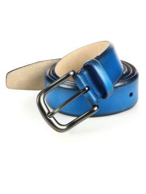 Saks Fifth Avenue  Burnished Leather Belt