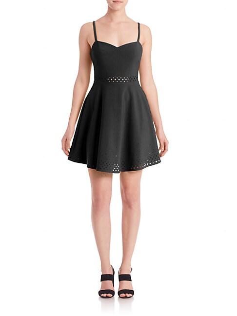 Laser-Cut Neilson Dress