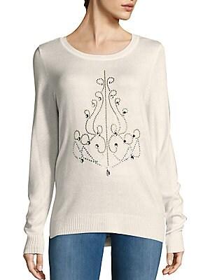 Sequin Chandelier Sweater