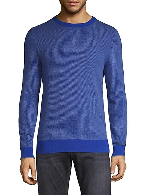 Ervino Textured Wool Sweater