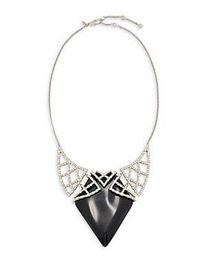 Swarovski Crystal & Lucite Necklace