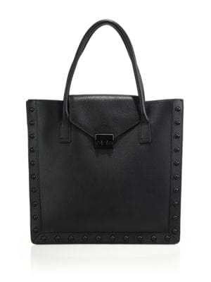 Loeffler Randall Work Pebble Leather Tote