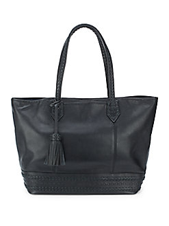 Cole Haan Tassel Leather Womens Tote